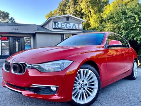 2013 BMW 3 Series for sale at Regal Auto Sales in Marietta GA