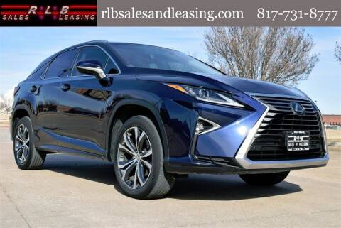 2017 Lexus RX 350 for sale at RLB Sales and Leasing in Fort Worth TX