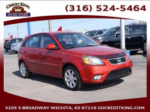 2011 Kia Rio5 for sale at Credit King Auto Sales in Wichita KS