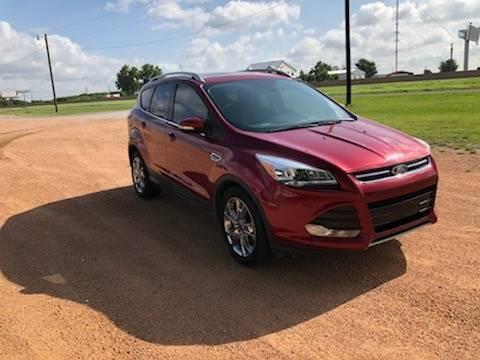 2015 Ford Escape for sale at CAVENDER MOTORS in Van Alstyne TX