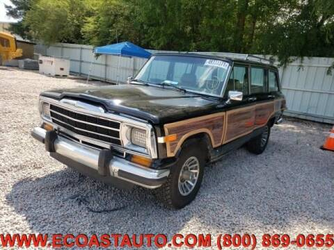 1988 Jeep Grand Wagoneer for sale at East Coast Auto Source Inc. in Bedford VA