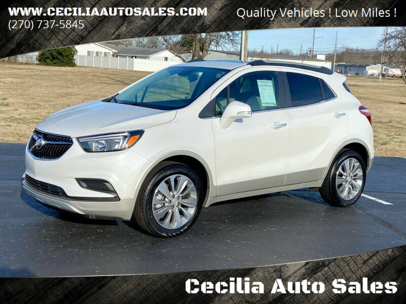 2019 Buick Encore for sale at Cecilia Auto Sales in Elizabethtown KY