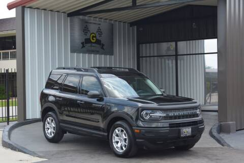 2021 Ford Bronco Sport for sale at G MOTORS in Houston TX