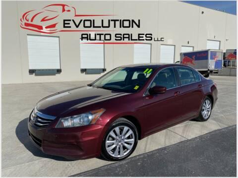 2011 Honda Accord for sale at Evolution Auto Sales LLC in Springville UT