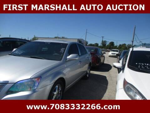2008 Toyota Avalon for sale at First Marshall Auto Auction in Harvey IL