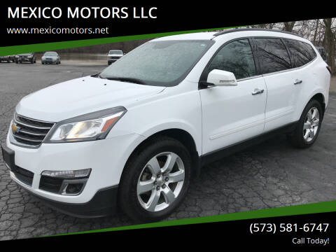 2017 Chevrolet Traverse for sale at MEXICO MOTORS LLC in Mexico MO