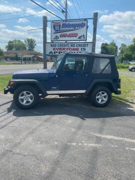 2005 Jeep Wrangler for sale at ROUTE 11 MOTOR SPORTS in Central Square NY