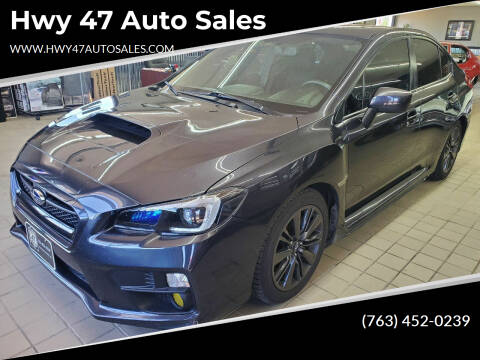2016 Subaru WRX for sale at Hwy 47 Auto Sales in Saint Francis MN