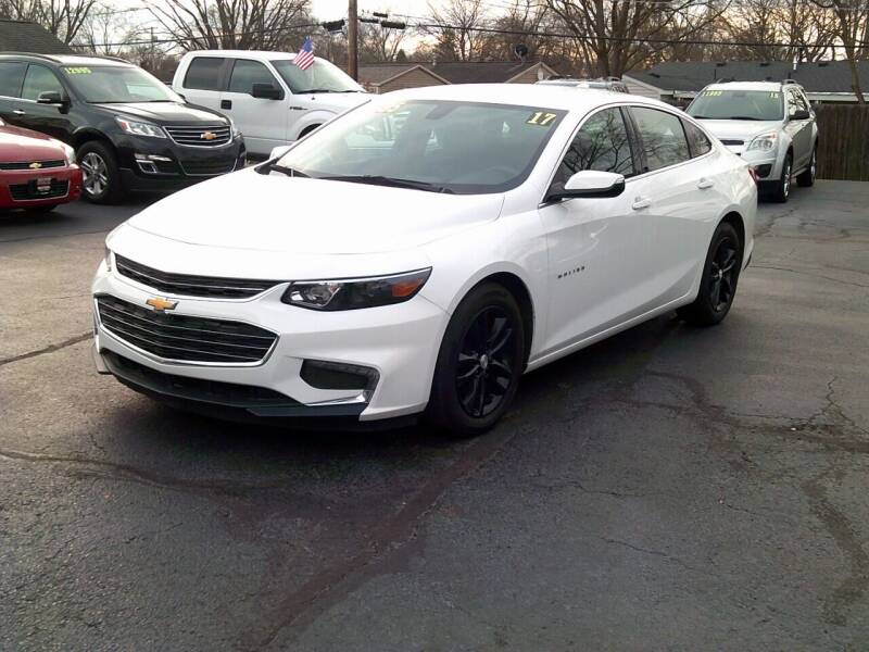 2017 Chevrolet Malibu for sale at Stoltz Motors in Troy OH