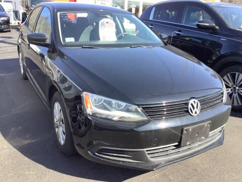 2014 Volkswagen Jetta for sale at Motuzas Automotive Inc. in Upton MA