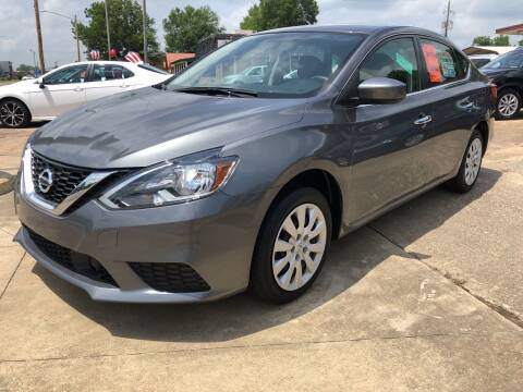 2019 Nissan Sentra for sale at BRAMLETT MOTORS in Hope AR