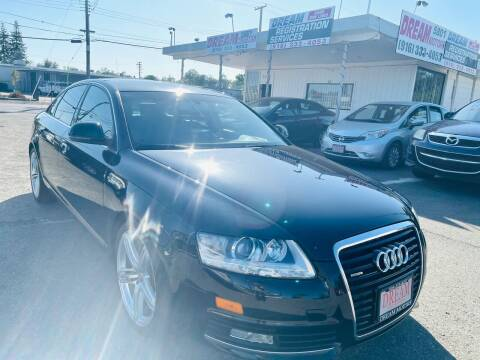 2010 Audi A6 for sale at Dream Motors in Sacramento CA