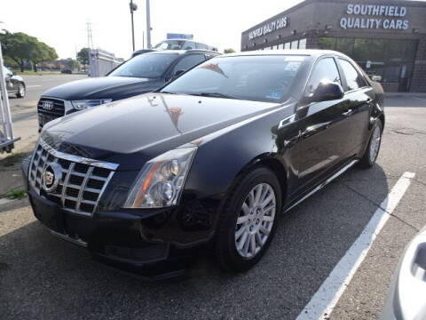 2013 Cadillac CTS for sale at SOUTHFIELD QUALITY CARS in Detroit MI