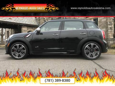 2015 MINI Countryman for sale at Reynolds Auto Sales in Wakefield MA