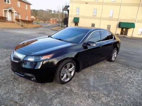 2013 Acura TL for sale at S.S. Motors LLC in Dallas GA