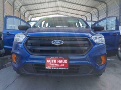 2017 Ford Escape for sale at Auto Haus Imports in Grand Prairie TX