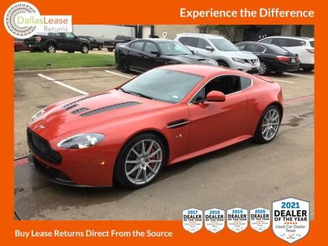 2015 Aston Martin V12 Vantage S for sale at Dallas Auto Finance in Dallas TX