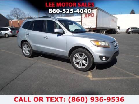 2010 Hyundai Santa Fe for sale at Lee Motor Sales Inc. in Hartford CT