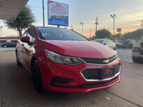 2016 Chevrolet Cruze for sale at Magic Auto Sales in Dallas TX