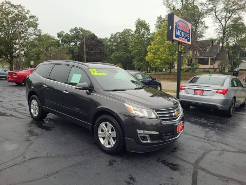 2013 Chevrolet Traverse for sale at Crocker Motors in Beloit WI