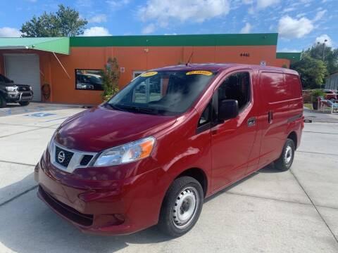 2015 Nissan NV200 for sale at Galaxy Auto Service, Inc. in Orlando FL