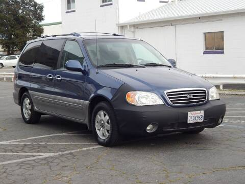 2003 Kia Sedona for sale at Gilroy Motorsports in Gilroy CA
