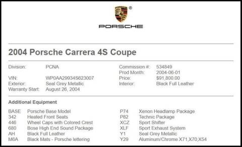 2004 Porsche 911 for sale at RAC Performance in Carrollton TX