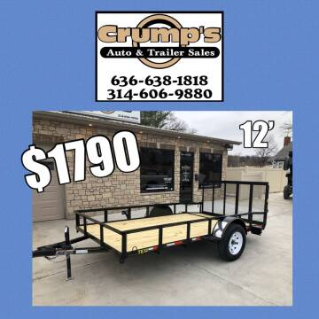 2021 Trailer Express 12' Utility Trailer for sale at CRUMP'S AUTO & TRAILER SALES in Crystal City MO