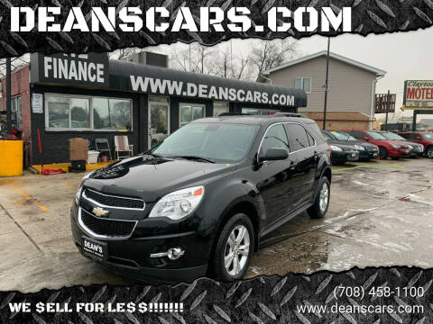 2012 Chevrolet Equinox for sale at DEANSCARS.COM in Bridgeview IL