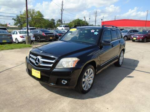 2011 Mercedes-Benz GLK for sale at BAS MOTORS in Houston TX