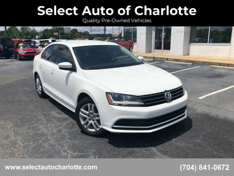 2017 Volkswagen Jetta for sale at Select Auto of Charlotte in Matthews NC