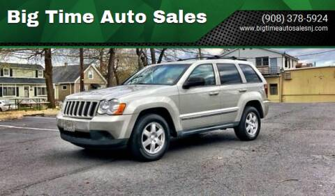 2010 Jeep Grand Cherokee for sale at Big Time Auto Sales in Vauxhall NJ