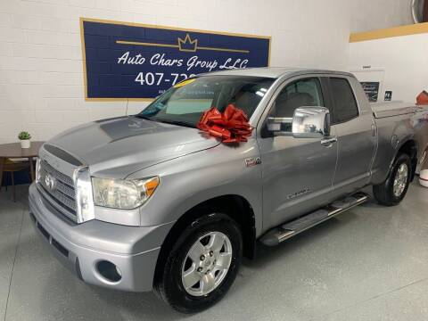 2007 Toyota Tundra for sale at Auto Chars Group LLC in Orlando FL