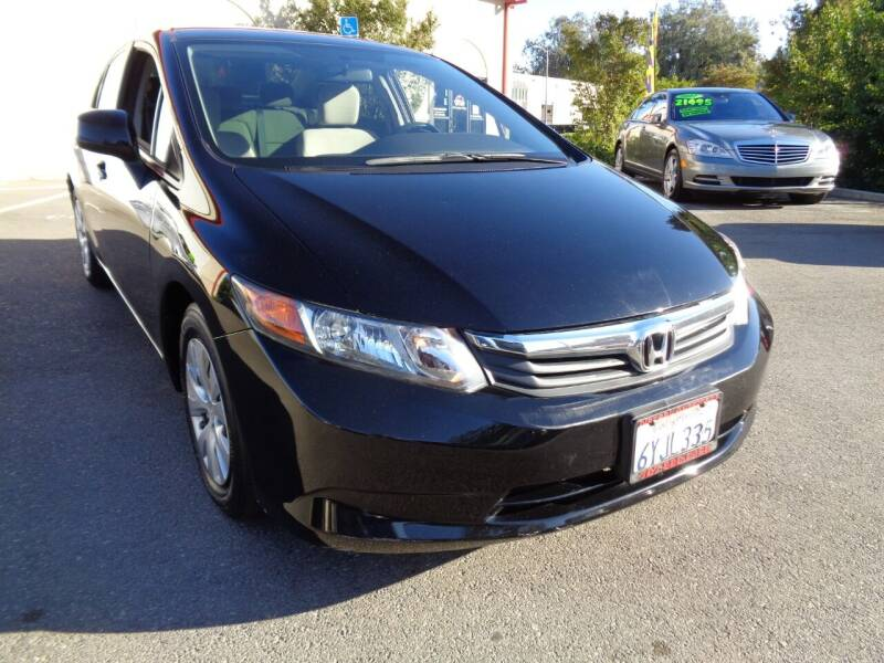 2012 Honda Civic for sale at NorCal Auto Mart in Vacaville CA