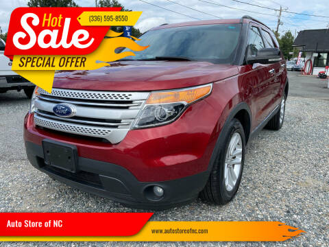 2013 Ford Explorer for sale at Auto Store of NC in Walkertown NC