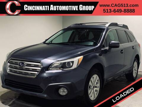 2015 Subaru Outback for sale at Cincinnati Automotive Group in Lebanon OH