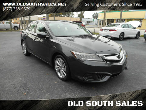 2016 Acura ILX for sale at OLD SOUTH SALES in Vero Beach FL