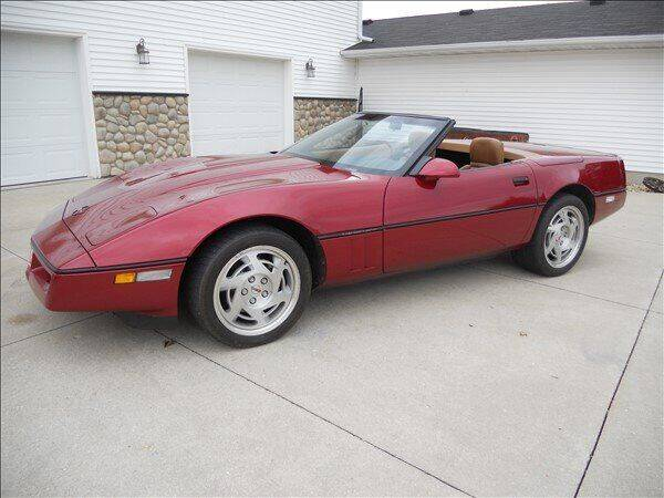 1990 Chevrolet Corvette for sale at OLSON AUTO EXCHANGE LLC in Stoughton WI