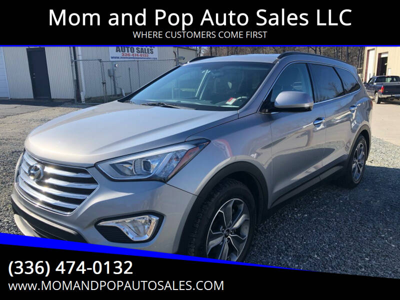 2016 Hyundai Santa Fe for sale at Mom and Pop Auto Sales LLC in Thomasville NC