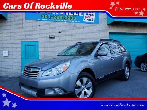 2011 Subaru Outback for sale at Cars Of Rockville in Rockville MD