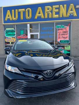 2018 Toyota Camry for sale at Auto Arena in Fairfield OH