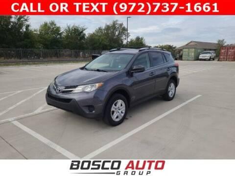 2015 Toyota RAV4 for sale at Bosco Auto Group in Flower Mound TX