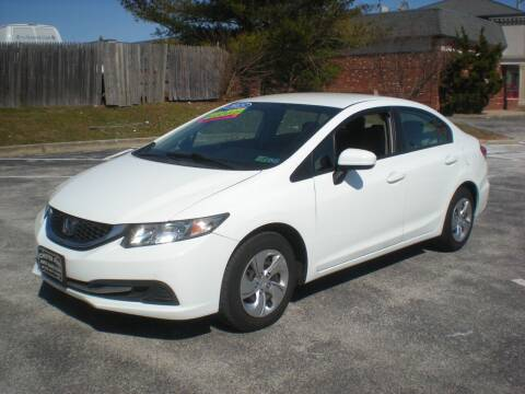 2015 Honda Civic for sale at 611 CAR CONNECTION in Hatboro PA