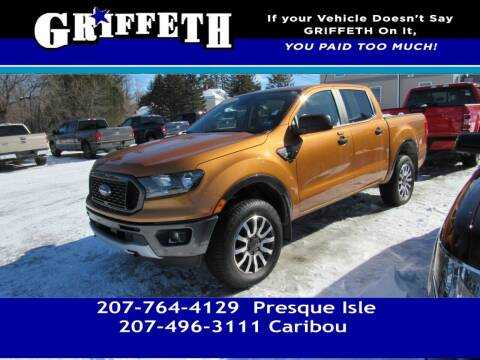 2019 Ford Ranger for sale at Griffeth Mitsubishi - Pre-owned in Caribou ME