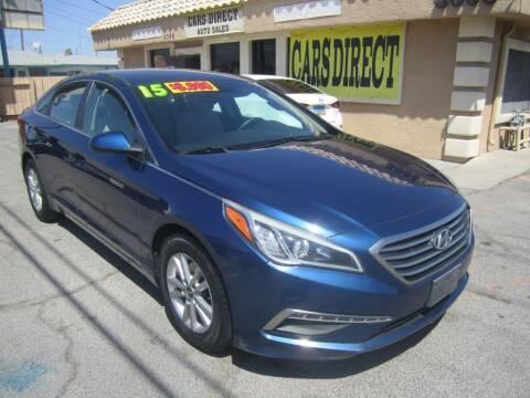 2015 Hyundai Sonata for sale at Cars Direct USA in Las Vegas NV