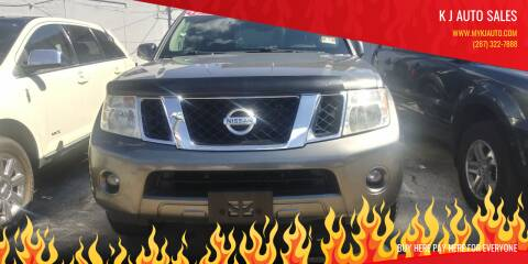 2008 Nissan Pathfinder for sale at K J AUTO SALES in Philadelphia PA