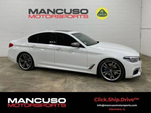 2018 BMW 5 Series for sale at Mancuso Motorsports in Glenview IL