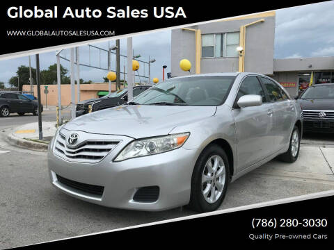 2011 Toyota Camry for sale at Global Auto Sales USA in Miami FL