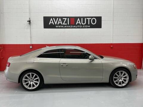 2011 Audi A5 for sale at AVAZI AUTO GROUP LLC in Gaithersburg MD