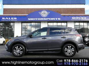 2017 Toyota RAV4 for sale at Highline Group Motorsports in Lowell MA